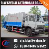 Carro inútil comprimido 18cbm del compresor de la basura de la marca de fábrica 10cbm 15cbm de China