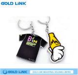 Netter Schlüsselketten-Acrylschlüsselring-Förderung-Geschenk-Schlüssel-Halter
