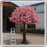 Árvore artificial da flor de cereja para a decoração do casamento