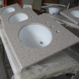 Italian Modern Artificial Stone Bathroom Vanity Counter Signal (171222)