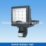 luz de inundação do diodo emissor de luz da ESPIGA 10W com sensor de PIR