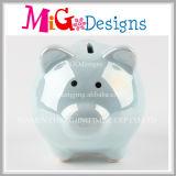 Fashion Designs caja de dinero de cerámica de la moneda del banco animal para los cabritos