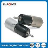 La venta de la fábrica de 16 mm Máquina de coser Micro DC motor del engranaje