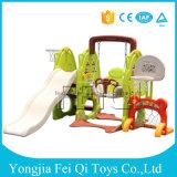 Скольжение для детсада, школа кролика игрушки малышей Feiqi пластичное, игрушка малыша парка атракционов