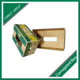 Boîte en papier ondulé pour fruits frais