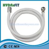 목욕탕 위생 상품 (HY6021)를 위한 강화된 스레드된 유연한 PVC 호스