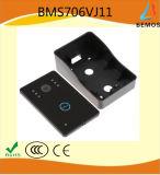 Interphone visuel multifonctionnel de sonnette de téléphone de porte pour la garantie d'appartement