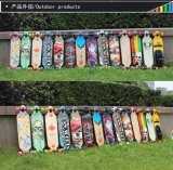 Skateboard van de Vleet van de Afwijking van de Hoge snelheid van Longboard van het Dek van de esdoorn het Houten Volwassen