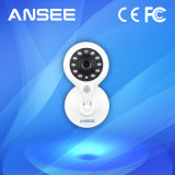 Câmera Home esperta de WiFi da rede pequena do IP mini com cartão do SD