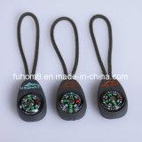 Tração de borracha plástica personalizada do Zipper para o vestuário