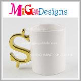 Großhandelsgeschenke keramisches Soem fertigen Tee-Becher kundenspezifisch an
