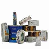 Etiqueta autoadhesiva auta-adhesivo impresa de la alta calidad para el conjunto