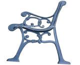 公園のベンチまたはガーデン・チェアの鋳造物の足