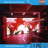 Instalação Fixa a Cores interior P10 LED