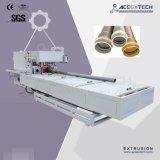 Máquina da tubulação do PVC com controlador do PLC