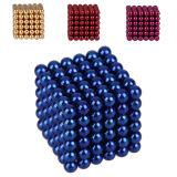 Neo cubo 5mm magnetici 216 sfere magnetiche del magnete di Neodym della sfera del magnete di Neodym 5mm