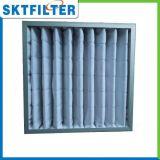 Filtro de bolso de filtro del bolsillo del filtro de aire G4 F5 F6 F7 F8, filtro de bolso del aire acondicionado