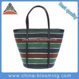 Multicolor хозяйственная сумка холстины мешка Tote ведра нашивки женщин