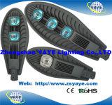 Precio unitario del precio competitivo de Yaye 18 USD95.5/PC para las luces de calle de la MAZORCA 150W LED con 3 años de garantía