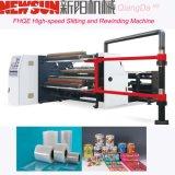 Fhqe-1300 de PVC de alta velocidad de corte y rebobinado de la máquina