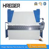 máquina de doblado certificada Ce&freno hidráulico de presión