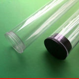 Hard PC Tube Protect Flourescent Bulb no Refrigeration Showcase