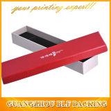 Коробка ювелирных изделий картона ожерелья прямоугольника бумажная (BLF-GB080)