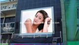 Pantalla LED grande comercial de publicidad exterior