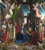 Pittura a olio della parete di attaccatura di disegno dell'oggetto d'antiquariato di stile dell'Europa