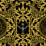 Ткань высокого качества дракона нестандартной конструкции шифоновая Silk