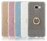 Bague de support de boucle de doigt Glitter cas TPU pour Smart Phone