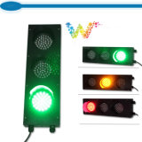 Luz de sinal vermelha do tráfego do verde amarelo do atacadista 100mm