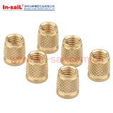 Noix en laiton de garniture intérieure filetée pour le matériau de Themoplastic