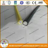 cabo protegido UV isolado dobro do picovolt do Duplo-Núcleo 4.0mm2, cabo solar, fio Photovoltaic, tipo cabos do picovolt, PV1-F