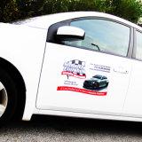 Progettare il magnete per il cliente di pubblicità smontabile dei grafici dell'automobile