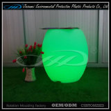 LED BV와 가진 플라스틱 나이트 클럽 소파 결혼식 빛 소파 의자