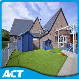 住宅の学校の庭の人工的な草L40