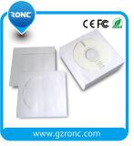 De Buena Calidad Color blanco CD DVD sobre papel de manga 80g