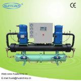 Refrigerador de agua refrigerado por agua del compresor de Danfoss del alto rendimiento