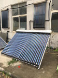 Collettore termico solare del riscaldamento della valvola elettronica del condotto termico