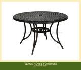 뜰 탁자 세트를 위한 옥외 주조 알루미늄 테이블