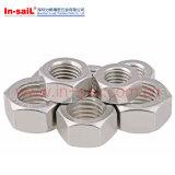 Edelstahl-schwere Sechskantmuttern (ASTM A194)