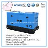 générateurs extérieurs d'écran silencieux de 80kw 100kVA avec l'engine Wp4.1d100e200 de Weichai