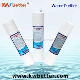 Cartouche d'épurateur de l'eau de pp avec la cartouche filtrante plissée de l'eau