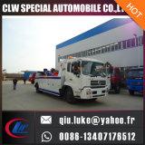Camion de remorquage de reprise de route de Dongfeng avec la grue pour l'option