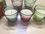 Candela domestica della decorazione, riempita candela profumata, candela dell'aroma