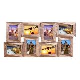 Het plastic MultiFrame van de Collage van de Foto van het Beeld van de Decoratie van het Huis