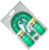 15m (50 ') umwickelte haltbarer Sprung-Ring-Luft-Schlauch der Spirale-TPU Garten-Schlauch-Set