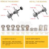 新しい回転子は除去剤の歯科タービンカートリッジ修理ツールを維持する