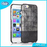 Kasten für Handy PC Leder-Kasten-Deckel für iPhone 6, Luxuxkrokodil PU-Kippen-Deckel-Fall für iPhone 6/6s